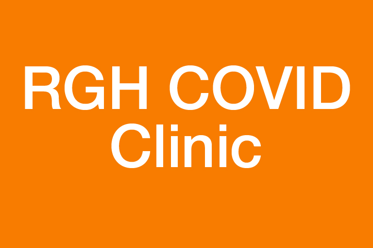 Banner reads RGH COVID Clinic